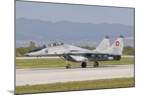 A Bulgarian Air Force Mig-29, Bulgaria-Stocktrek Images-Mounted Photographic Print