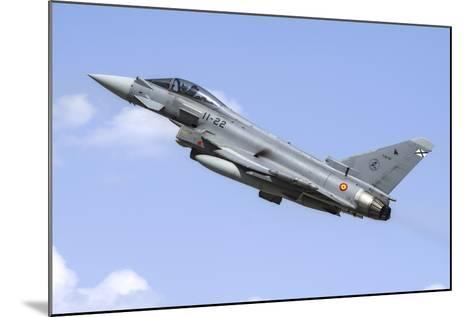 A Spanish Air Force Ef-2000 Typhoon Taking Off-Stocktrek Images-Mounted Photographic Print