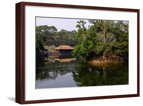 Tomb of Emperor Tu Duc of Nguyen Dynasty, Dated 1864, Pavillon of Xung Kiem, Group of Hue Monuments-Nathalie Cuvelier-Framed Art Print