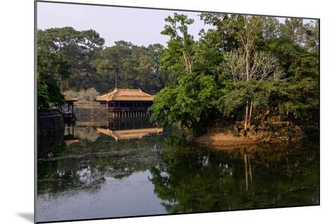 Tomb of Emperor Tu Duc of Nguyen Dynasty, Dated 1864, Pavillon of Xung Kiem, Group of Hue Monuments-Nathalie Cuvelier-Mounted Photographic Print