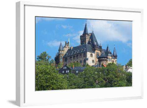 Wernigerode Castle, Harz, Saxony-Anhalt, Germany, Europe-G & M Therin-Weise-Framed Art Print