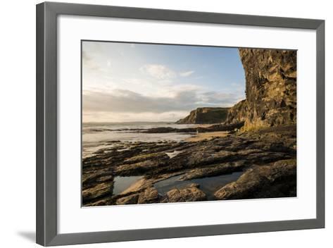 Druidston Haven Beach at Dusk, Pembrokeshire Coast National Park, Wales, United Kingdom, Europe-Ben Pipe-Framed Art Print
