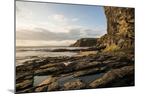 Druidston Haven Beach at Dusk, Pembrokeshire Coast National Park, Wales, United Kingdom, Europe-Ben Pipe-Mounted Photographic Print