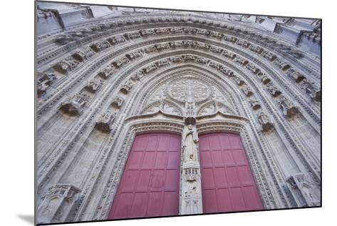 The Entrance to Cathedral of Saint Paul and Saint Peter, Loire-Atlantique, France-Julian Elliott-Mounted Photographic Print