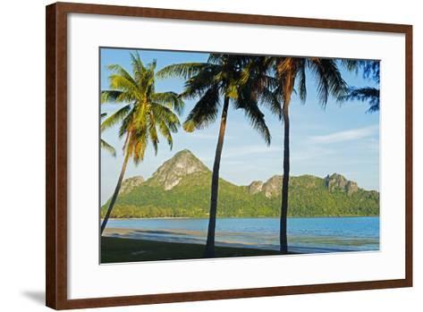 Ao Manao Beach, Prachuap Kiri Khan, Thailand, Southeast Asia, Asia-Christian Kober-Framed Art Print