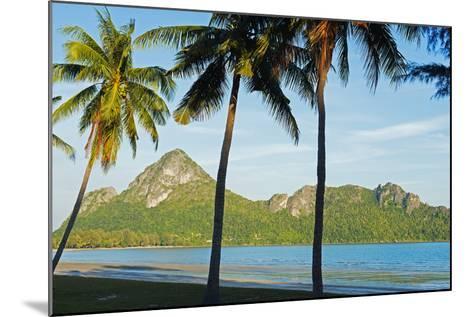 Ao Manao Beach, Prachuap Kiri Khan, Thailand, Southeast Asia, Asia-Christian Kober-Mounted Photographic Print