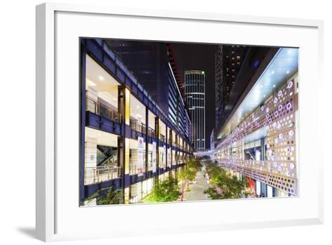City Center, Taipei, Taiwan, Asia-Christian Kober-Framed Art Print