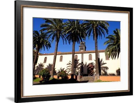 Church of the Immaculate Conception, San Cristobal De La Laguna, Tenerife, Canary Islands, Spain-Carlo Morucchio-Framed Art Print
