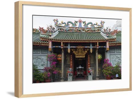 Nghia an Hoi Quan Pagoda, Cholon, Ho Chi Minh City (Saigon), Vietnam, Indochina, Southeast Asia-Christian Kober-Framed Art Print