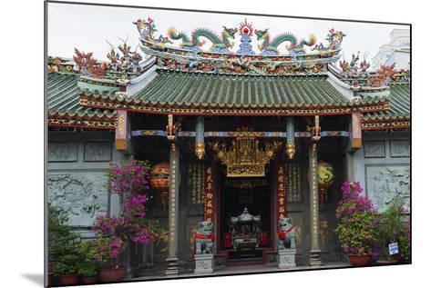 Nghia an Hoi Quan Pagoda, Cholon, Ho Chi Minh City (Saigon), Vietnam, Indochina, Southeast Asia-Christian Kober-Mounted Photographic Print