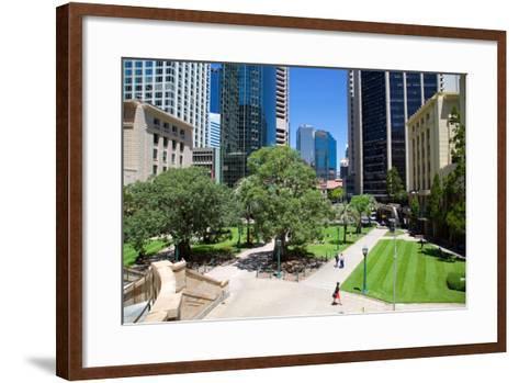 Anzac Square, Brisbane, Queensland, Australia, Oceania-Frank Fell-Framed Art Print