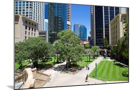 Anzac Square, Brisbane, Queensland, Australia, Oceania-Frank Fell-Mounted Photographic Print
