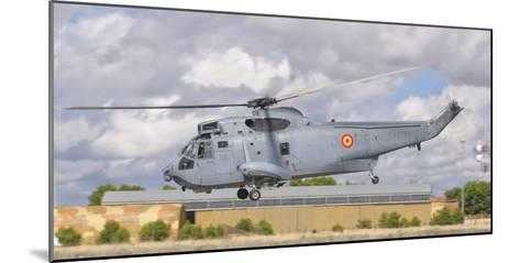 A Spanish Navy Sh-3D Helicopter-Stocktrek Images-Mounted Photographic Print