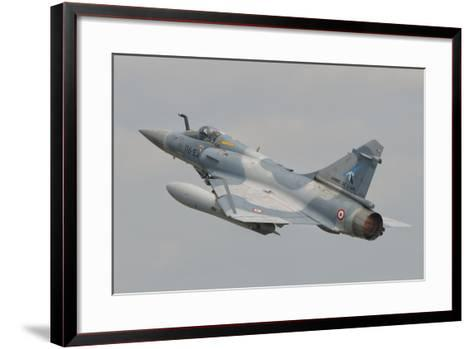 A French Air Force Mirage 2000C Taking Off-Stocktrek Images-Framed Art Print
