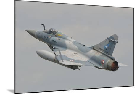 A French Air Force Mirage 2000C Taking Off-Stocktrek Images-Mounted Photographic Print