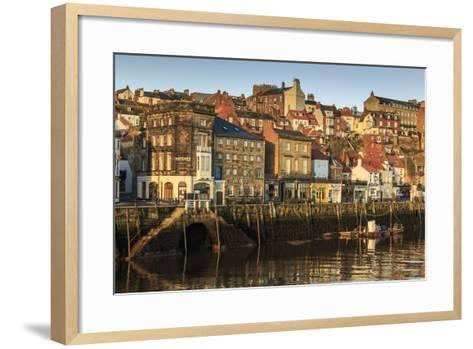 Townhouses, North Yorkshire-Eleanor Scriven-Framed Art Print