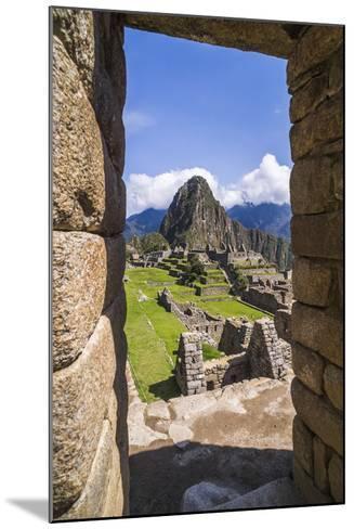 Machu Picchu Inca Ruins and Huayna Picchu (Wayna Picchu), Cusco Region, Peru, South America-Matthew Williams-Ellis-Mounted Photographic Print