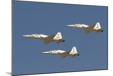 Formation of Turkish Air Force T-38A Talon's over Izmir, Turkey-Stocktrek Images-Mounted Photographic Print
