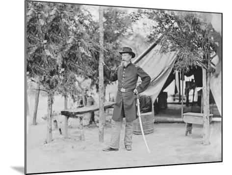 Captain James O'Rourke of the 4th New York Heavy Artillery-Stocktrek Images-Mounted Photographic Print