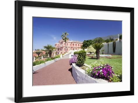 Jardin Marquesado De La Quinta Gardens, La Orotava, Canary Islands-Markus Lange-Framed Art Print