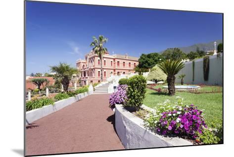 Jardin Marquesado De La Quinta Gardens, La Orotava, Canary Islands-Markus Lange-Mounted Photographic Print