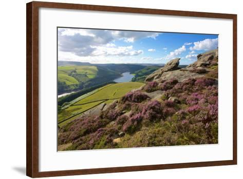 View from Derwent Edge, Peak District National Park, Derbyshire, England, United Kingdom, Europe-Frank Fell-Framed Art Print