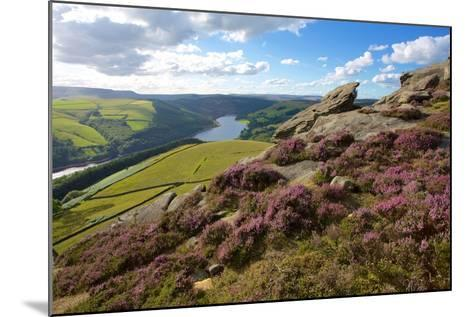 View from Derwent Edge, Peak District National Park, Derbyshire, England, United Kingdom, Europe-Frank Fell-Mounted Photographic Print