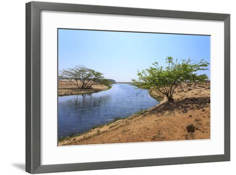 Tranquil Waters of Khor Rori (Rouri), Oman-Eleanor Scriven-Framed Art Print