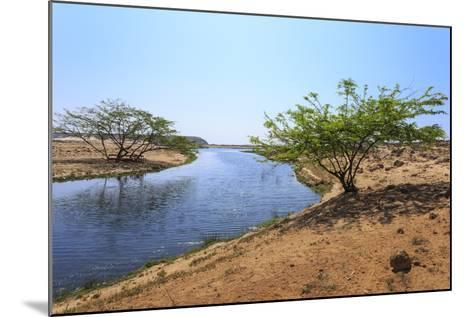 Tranquil Waters of Khor Rori (Rouri), Oman-Eleanor Scriven-Mounted Photographic Print
