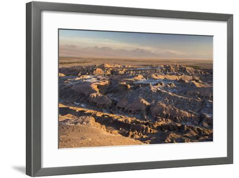 Moon Valley Sunset (Valle De La Luna), Atacama Desert, North Chile, Chile, South America-Matthew Williams-Ellis-Framed Art Print