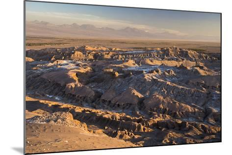 Moon Valley Sunset (Valle De La Luna), Atacama Desert, North Chile, Chile, South America-Matthew Williams-Ellis-Mounted Photographic Print