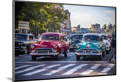 Classic 1950S American Cars, Cuba-Alan Copson-Mounted Photographic Print