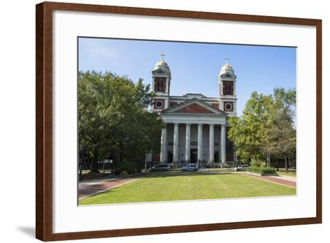 The Cathedral Basilica of the Immaculate Conception, Seat of the Archdiocese of Mobile, Alabama-Michael Runkel-Framed Art Print