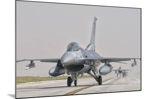 Turkish Air Force F-16 During Exercise Anatolian Eagle-Stocktrek Images-Mounted Photographic Print