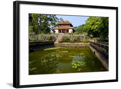 Tomb of the Emperor Minh Mang of Nguyen Dynasty, the Light Pavillon, Group of Hue Monuments-Nathalie Cuvelier-Framed Art Print