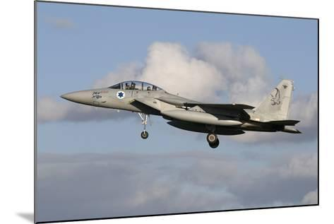 An Israeli Air Force F-15D Baz Prepares for Landing-Stocktrek Images-Mounted Photographic Print