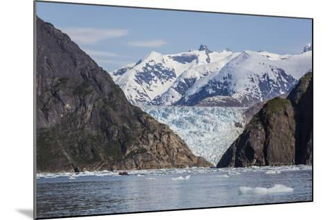 Scenic Views of the South Sawyer Glacier in Tracy Arm-Fords Terror Wilderness Area, Alaska-Michael Nolan-Mounted Photographic Print