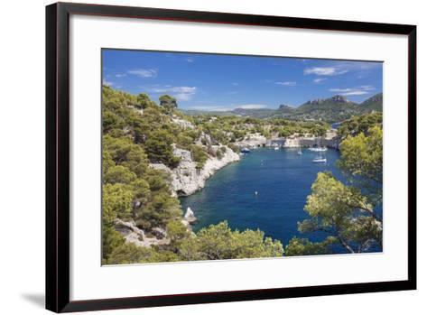 Les Calanques De Port-Miou, Southern France-Markus Lange-Framed Art Print