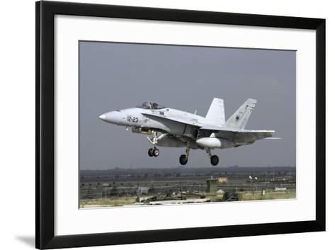 A Spanish Air Force Ef-18M Hornet During Exercise Anatolian Eagle-Stocktrek Images-Framed Art Print