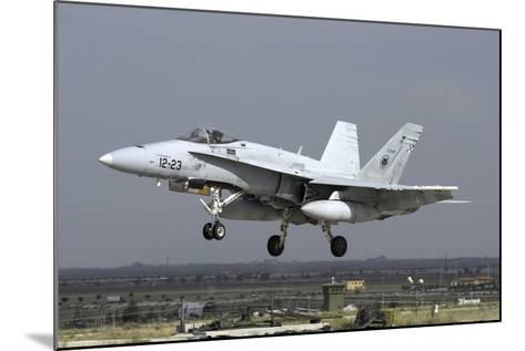 A Spanish Air Force Ef-18M Hornet During Exercise Anatolian Eagle-Stocktrek Images-Mounted Photographic Print