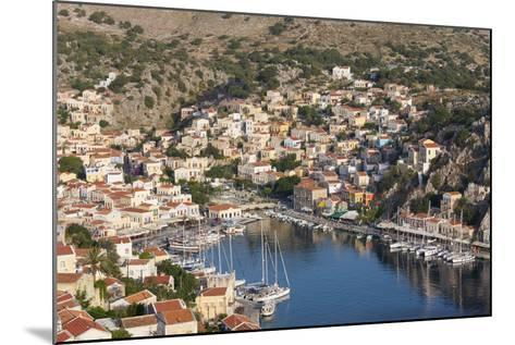 View over the Colourful Harbour, Dodecanese Islands-Ruth Tomlinson-Mounted Photographic Print