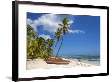 Dominican Republic, Punta Cana, Parque Nacional Del Este, Saona Island, Mano Juan-Jane Sweeney-Framed Art Print