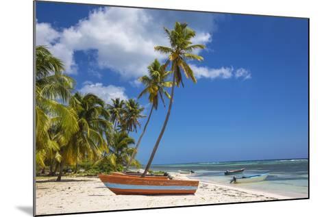 Dominican Republic, Punta Cana, Parque Nacional Del Este, Saona Island, Mano Juan-Jane Sweeney-Mounted Photographic Print