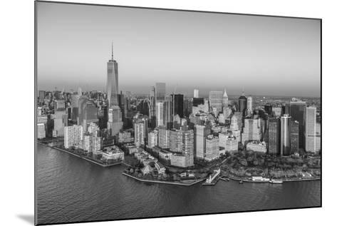 One World Trade Center and Lower Manhattan, New York City, New York, USA-Jon Arnold-Mounted Photographic Print