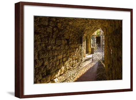 Eze, Alpes-Maritimes, Provence-Alpes-Cote D'Azur, French Riviera, France-Jon Arnold-Framed Art Print