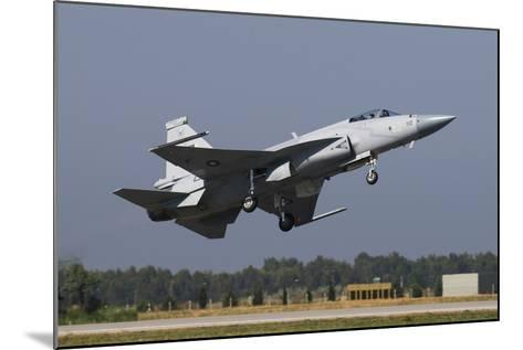 A Pakistan Air Force Jf-17 in Midair over Izmir, Turkey-Stocktrek Images-Mounted Photographic Print