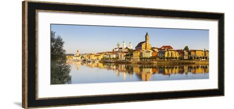 St. Paul's Church and St-Doug Pearson-Framed Art Print