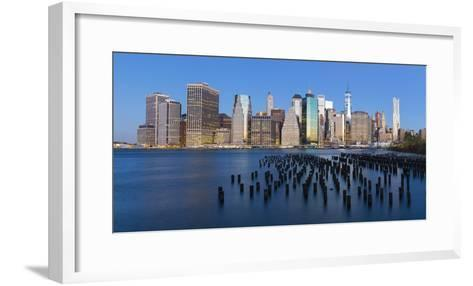 Usa, New York City, Downtown Financial District of Manhattan-Gavin Hellier-Framed Art Print