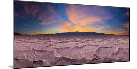 Usa, California, Death Valley National Park, Badwater Basin, Lowest Point in North America-Alan Copson-Mounted Photographic Print