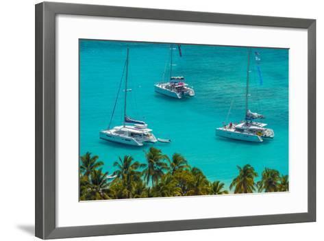 Caribbean, British Virgin Islands, Jost Van Dyke, White Bay-Alan Copson-Framed Art Print